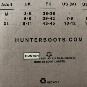 Hunter Shoes - NWT Hunter Boot Socks for Tall Boots Pink